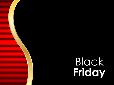 Black Friday abstract background Illustration