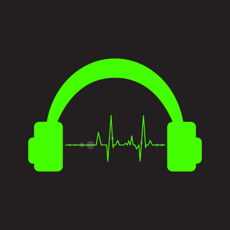 Vector volume music control concept, digital energy sound music equalizer