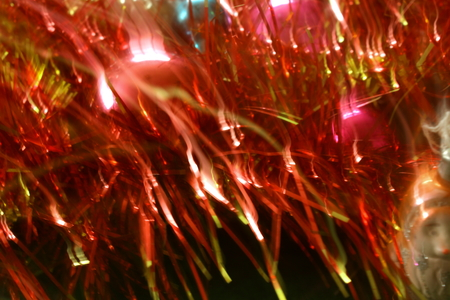 the tinsel: Merry Christmas and Happy New Year tinsel