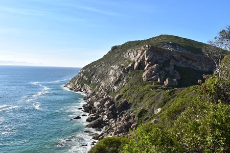 Wonderful landscape at the Robberg Nature Reserve at Plettenberg Bay, South Africa 스톡 콘텐츠 - 133415885