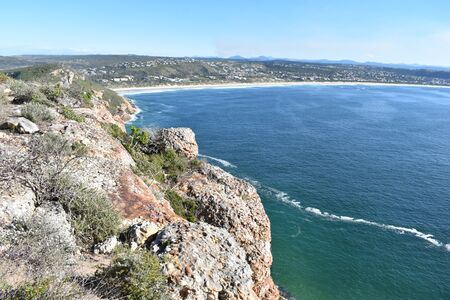 Wonderful landscape at the Robberg Nature Reserve at Plettenberg Bay, South Africa
