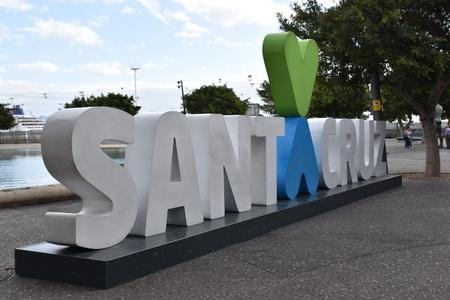 Letters of Santa Cruz in Tenerife, Europe