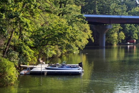 Boating on the Wisconsin River