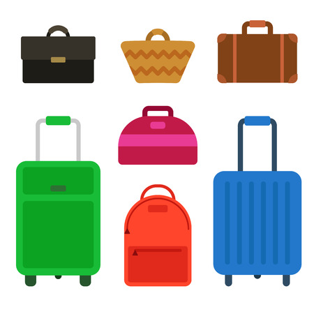suitcase packing: Travel bag set