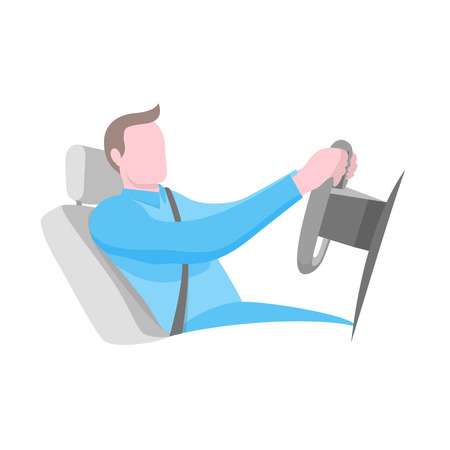 Best position for driving car