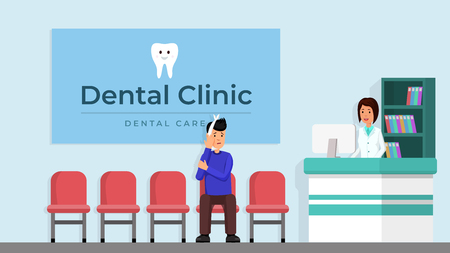 Dental clinic reception