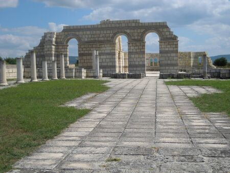 the largest: Largest basilica in the old Bulgarian capital Pliska