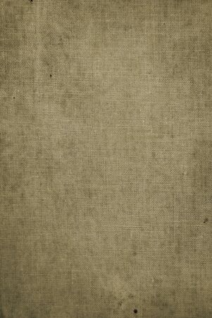 Old an old grungy hessian book cover background Stock Photo - 4234694