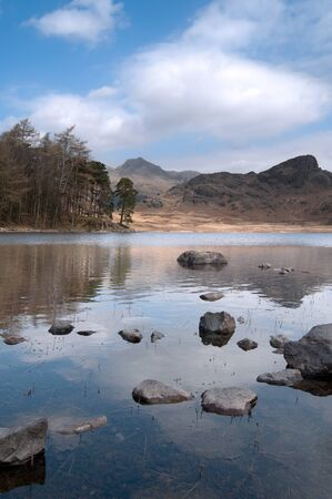 The beautiful Blea Tarn in the lake district, cumbria, england. photo