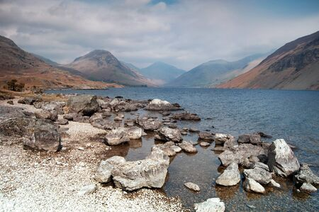 The beautiful Wast Water in the lake district, cumbria, england.
