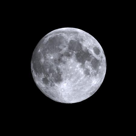 여름 보름달의 고립 된 총 스톡 콘텐츠