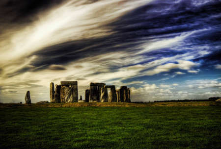 wiltshire: Stonehenge in Wiltshire, England Stock Photo
