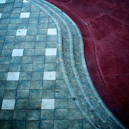 curb appeal: Street pavement with curb appeal