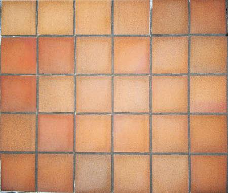Floor in terracotta square tiles Stock Photo - 8495536