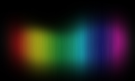 Abstract Rainbow Colors Background Stock Photo