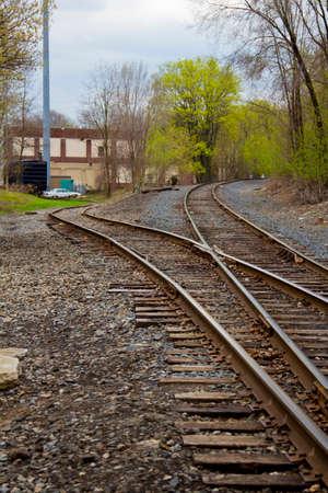 boxcar train: Boxcar sitting on a siding, near Turning Point Park
