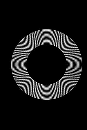 White Light Ring created using Light Painting.