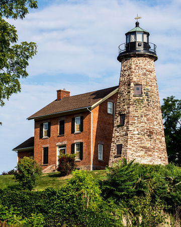 light house: Light house in Charlotte NY on the Genesee River