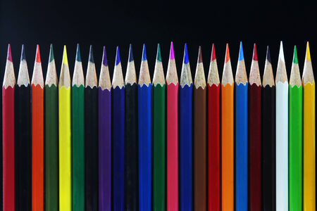 Colorful stationery For drawing and painting