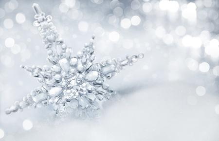 snowflake background: winter background
