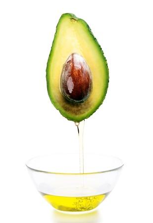 avocado: olio di avocado, avocado Archivio Fotografico