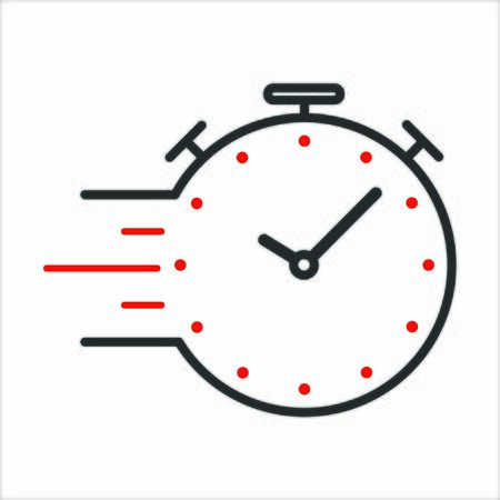 Clock showing time speeding by towards a deadline