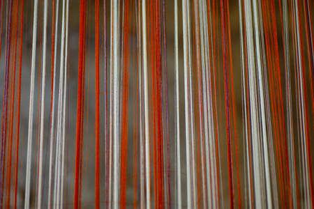 silk thread: blur of silk thread background Stock Photo