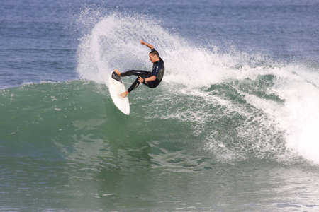 surfing france photo