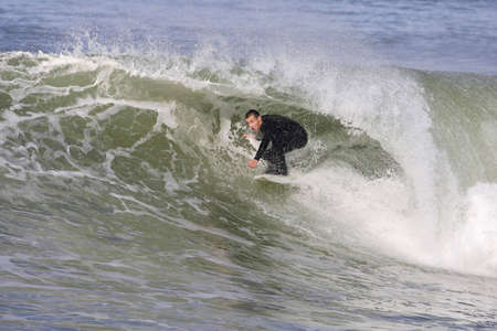 surfer on a beautiful wave Stock Photo - 3053839