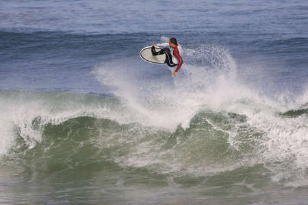 surfing in the air photo