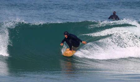 surfing wave photo
