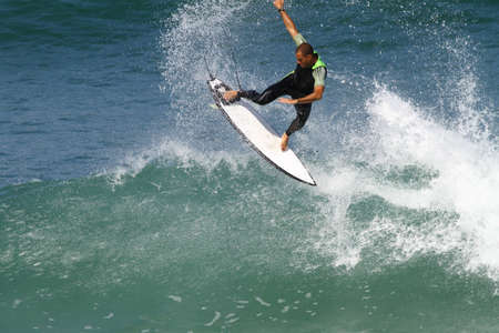 good surfer in action Stock Photo - 8309785