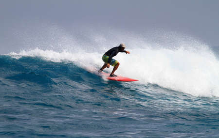good surfer in action Stock Photo - 8309778
