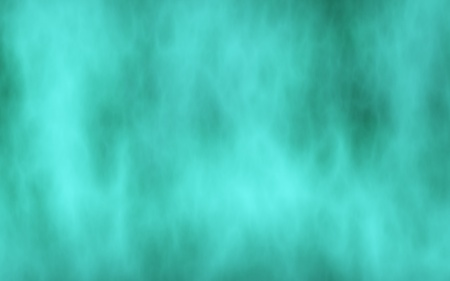 Background of abstract green color smoke. The wall of green fog