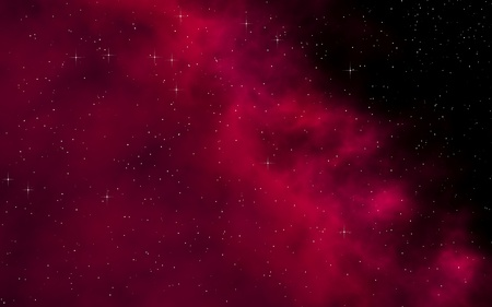 Colorful and beautiful space background. Outer space. Starry outer space texture. Templates, red background. 3D illustration Stock Photo