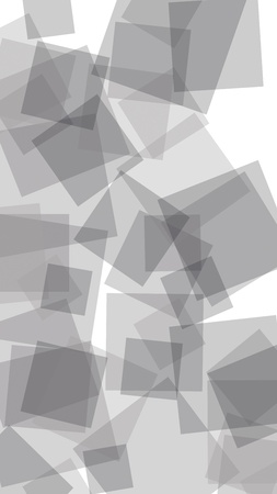 Gray translucent hexagons on white background. Vertical image orientation. 3D illustration Stock Photo