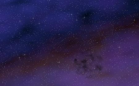 Fond d'espace coloré et magnifique. Cosmos. Texture de l'espace extra-atmosphérique étoilé. Illustration 3D