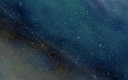 Colorful and beautiful space background. Outer space. Starry outer space texture. 3D illustration Archivio Fotografico