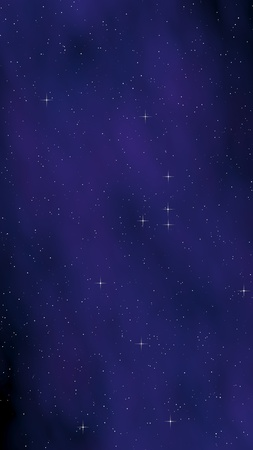Colorful and beautiful space background. Outer space. Starry outer space texture. 3D illustration Stock Photo