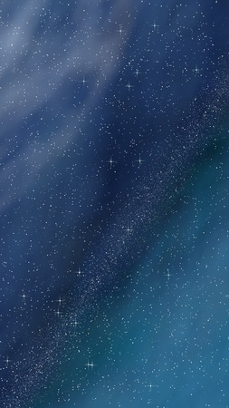 Colorful and beautiful space background. Outer space. Starry outer space texture. Templates, blue background. Design of websites, mobile devices and applications. 3D illustration
