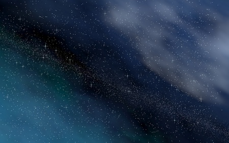 Colorful and beautiful space background. Outer space. Starry outer space texture. 3D illustration Reklamní fotografie