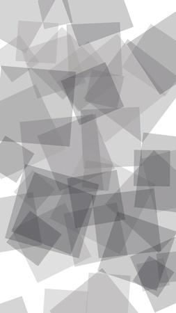 Gray translucent hexagons on white background. Vertical image orientation. 3D illustration Stok Fotoğraf