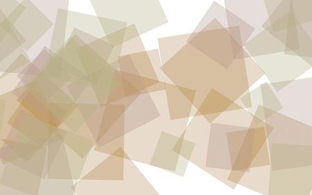 Multicolored translucent squares on white background. 3D illustration Stok Fotoğraf - 123486843