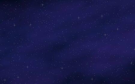 Bunter und schöner Raumhintergrund. Weltraum. Sternenklare Weltraumtextur. 3D-Darstellung