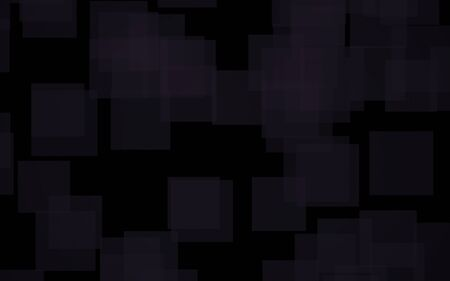 Black abstract background. Backdrop with grey squares. 3D illustration Stock Photo