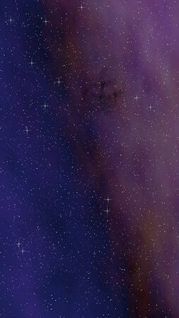 Colorful and beautiful space background. Outer space. Starry outer space texture. 3D illustration Stock fotó