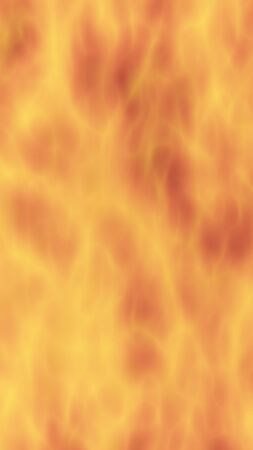Abstract Fire Background with Flames. Wall of Fire. 3D illustration