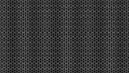 White honeycomb on a black background. Seamless texture. Isometric geometry. 3D illustration Imagens