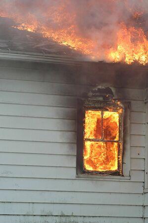 House Fire Stock fotó - 3614940