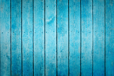 wood panel: Blue wood texture background Stock Photo